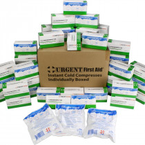 "Instant Cold Compress, Boxed 4""x5"" - 50 Per Case, Urgent First Aid"
