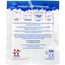 "4"" x 5"" Instant Cold Compress, 1 Each - SmartTab EzRefill - SmartCompliance SmartTab ezRefill"