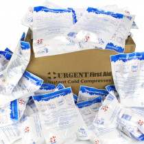 "6""x9"" Instant Cold Compress, 50 Per Case - Urgent First Aid"