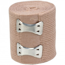 "2"" x 5 yd Elastic (Ace) Bandage w/ 2 Fasteners - 1 Each - Value Brand"