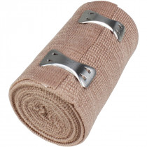 "3"" x 5 yd Elastic (Ace) Bandage w/ 2 Fasteners - 1 Each - Value Brand"