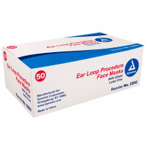 Eye Cover With Ear Loop Mask - 50 Per Case - Dynarex