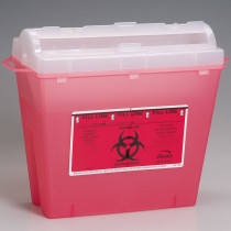 Sharps Container, 5 Quart - Bemis