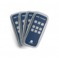 Prestan Professional AED Trainer Remote, 4 Pack - Prestan Products