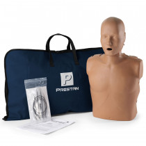 Prestan Adult CPR Manikin w/o Monitor - Dark Skin - Prestan Products