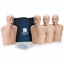Prestan Adult CPR Manikin w/o Monitor - 4 Pack - Medium Skin - Prestan Products