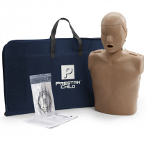 Prestan Child CPR Manikin w/o Monitor - Dark Skin - Prestan Products
