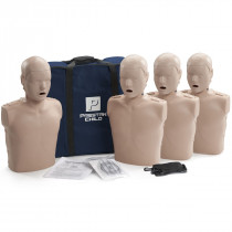 Prestan Child CPR Manikin w/o Monitor - 4 Pack - Medium Skin - Prestan Products