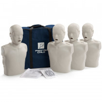 Prestan Child CPR Manikin w/o Monitor - 4 Pack - Light Skin - Prestan Products