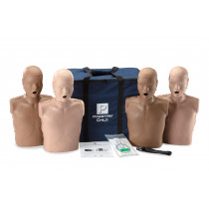 PRESTAN Diversity Professional Child CPR Training Manikins 4-Pack, PRESTAN