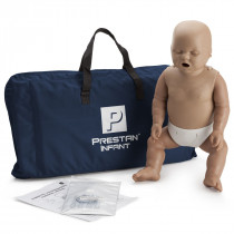 Prestan Infant CPR Manikin w/o Monitor - Dark Skin - Prestan Products