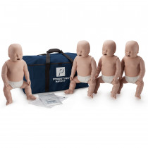 Prestan Infant CPR Manikin w/o Monitor - 4 Pack - Medium Skin - Prestan Products