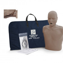 Prestan Adult Jaw Thrust CPR Manikin w/o Monitor - Dark Skin - Prestan Products