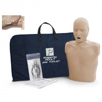 Prestan Adult Jaw Thrust CPR Manikin w/o Monitor - Medium Skin - Prestan Products