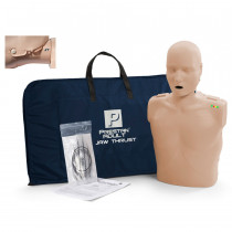 Prestan Adult Jaw Thrust CPR Manikin w/ Monitor - Medium Skin - Prestan Products