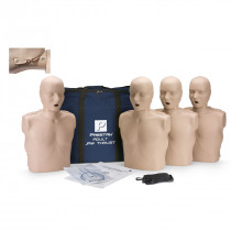 Prestan Adult Jaw Thrust CPR Manikin w/o CPR Monitor - 4 Pack - Medium Skin - Prestan Products