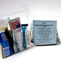 14 Piece Personal Hygiene Kit (Male) - Mayday