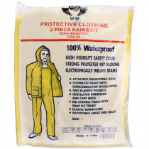 2 Piece Rain Suit Heavy Duty PVC - Value Brand