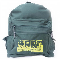 Backpack w/ C.E.R.T. Logo - Mayday