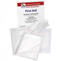 First Aid Student Training Kit, 7 Pieces - American CPR Training