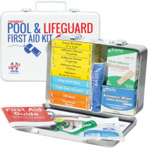 Swimming Pool & Lifeguard First Aid Kit - Metal - Urgent First Aid