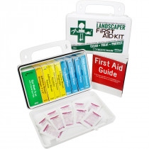 Landscaper's Kit - 10 Unit - 103 Piece - Plastic Case w/ Gasket - 1 Each, Urgent First Aid