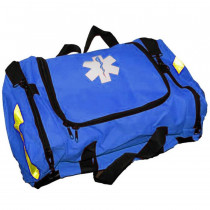 Empty First Responder Bag w/ Rigid Foam Insert - Blue - Urgent First Aid