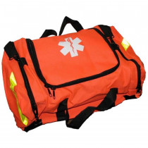 Empty First Responder Bag w/ Rigid Foam Insert - Orange - Urgent First Aid