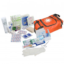 First Responder Kit / Jump Bag - 80 Pieces - Orange - Urgent First Aid