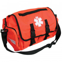 Empty First Responder Bag (On Call Bag) - Orange - Urgent First Aid