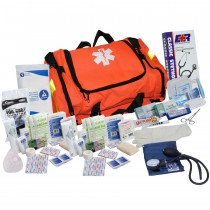 First Responder Kit - 151 Pieces - Orange - Urgent First Aid