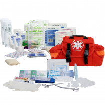 On Call First Responder Kit - 147 Piece - Orange - Urgent First Aid