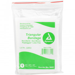 Triangular Sling/Bandage w/ 2 Safety Pins - 1 Each - Value Brand