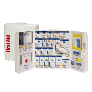 Large Plastic SmartCompliance Food Service Cabinet, ANSI A+ -  First Aid Only