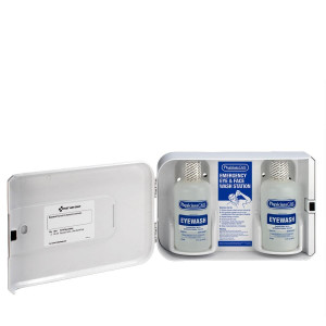 Smart Compliance Complete Eyewash Cabinet, Plastic, First Aid Only