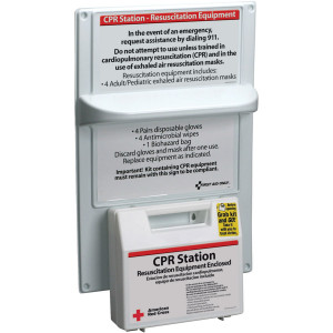 American Red Cross CPR Station: 9145-RC - American Red Cross