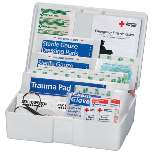 American Red Cross 43 Piece Personal Plastic First Aid Kit - American Red Cross
