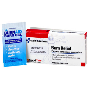 Burn Relief - 3.5 gm. - 6 Per Box - Pac-Kit by First Aid Only
