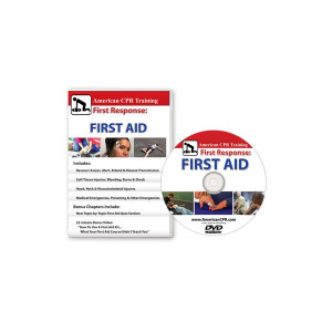 AEHS First Response: The First Aid Video, English (DVD) - American CPR Training