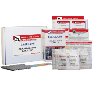 Adult, Child & Infant C.A.R.E. CPR™ Class Student 10 Pack - American CPR Training