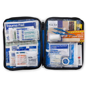 143 Piece Extra Large, Auto Soft Sided First Aid Kit - First Aid Only