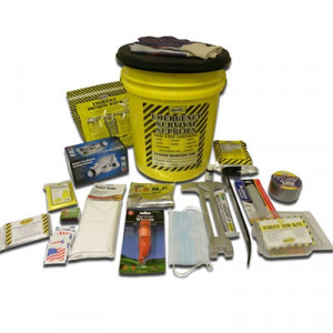 1 Person Deluxe Emergency Honey Bucket Kit - Mayday