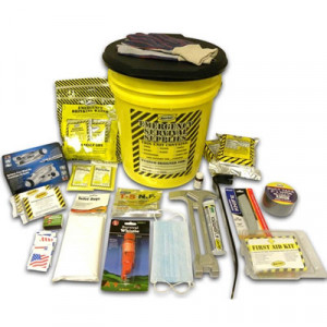 2 Person Deluxe Emergency Honey Bucket Kit - Mayday
