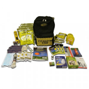3 Person Deluxe Emergency Backpack Kit - Mayday