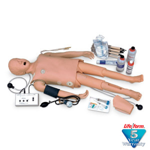 Deluxe Child CRiSis Manikin with Arrhythmia Tutor - LifeForm