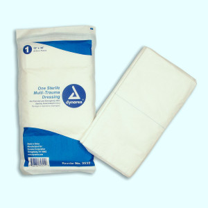 "Multi-Trauma Dressing, 12""x30"" - 1 Each - Dukal"