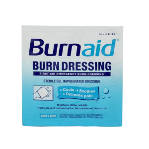 "4""x4"" Burnaid Burn Dressing, Sterile - 1 Each - Burnaid"