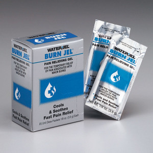 Water Jel Burn Relief, 3.5 gm. - 25 Per Box - Water-Jel