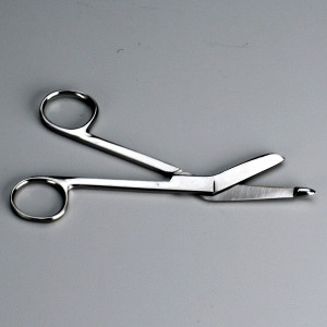 """Deluxe Stainless Steel Scissors - 5-3/4"""" - 1 Each - First Aid Only"""