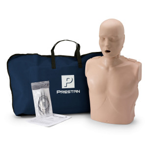 Prestan Adult CPR Manikin w/o Monitor - Medium Skin - Prestan Products